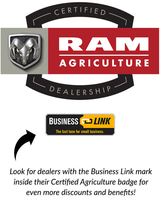 RAM Certified Agriculture Dealership Business Link